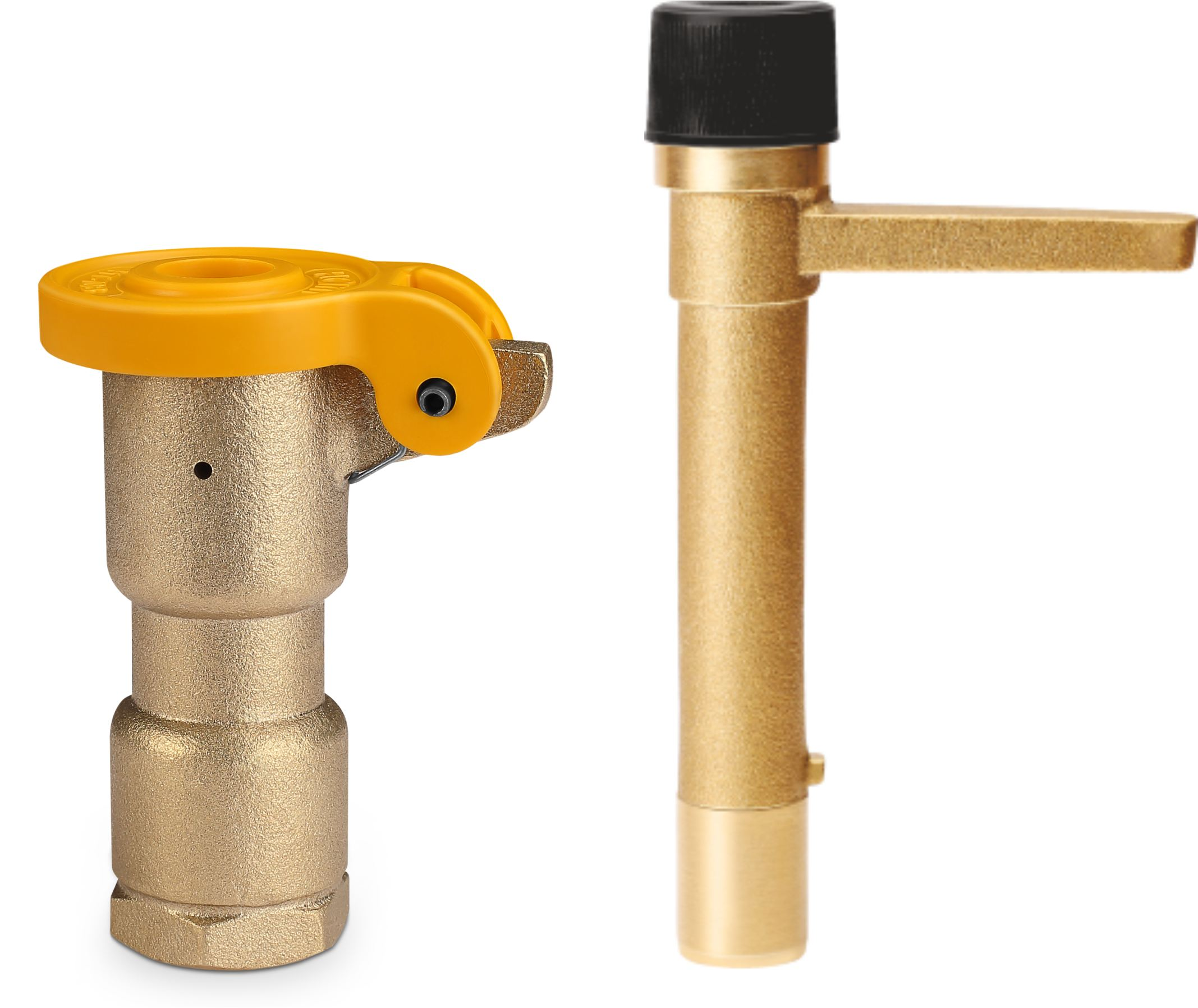 Brass Quick Coupling Valve And Key Control Valve AutomatIrrigation