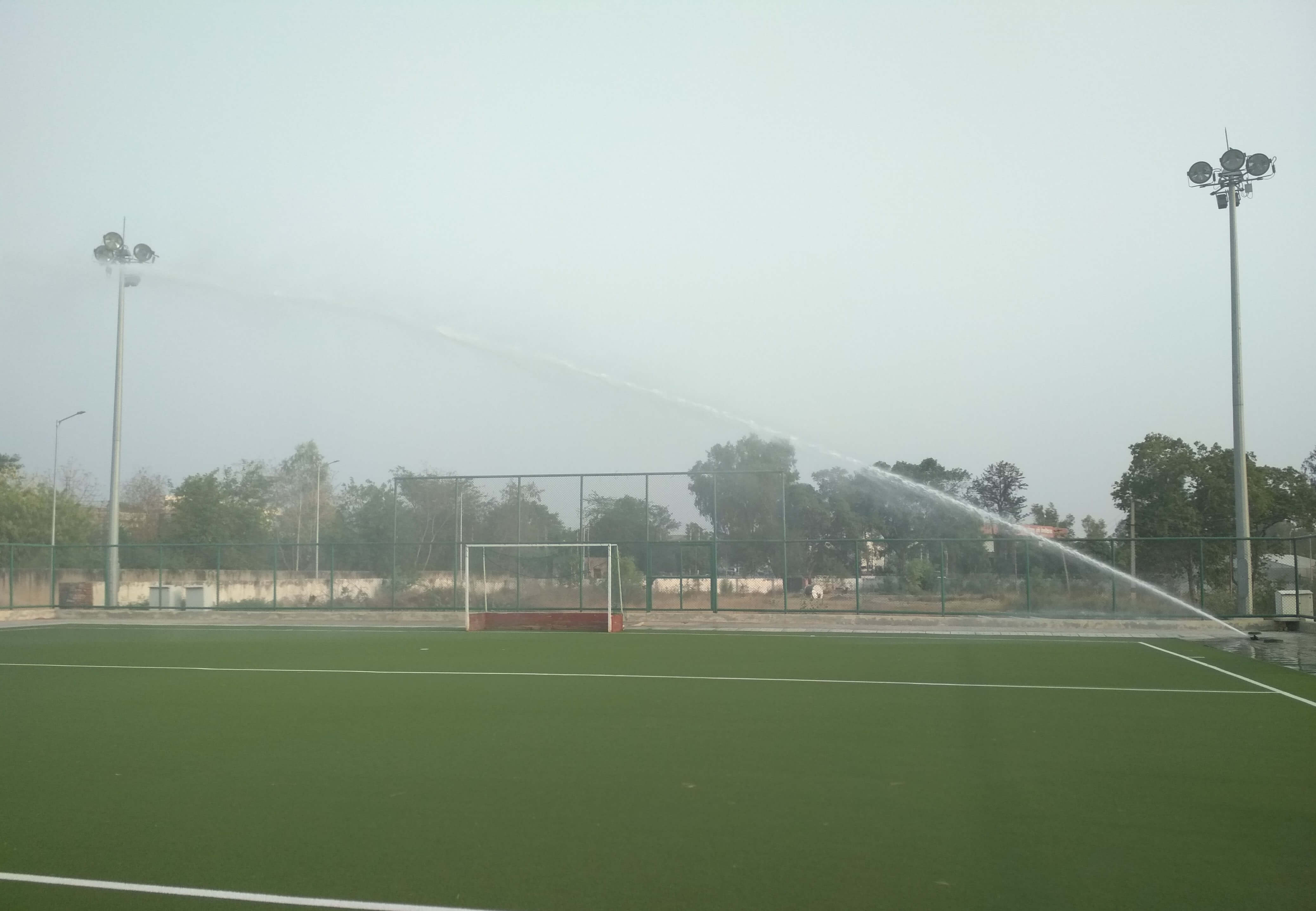 Irrigation Systems for Sports Facilities