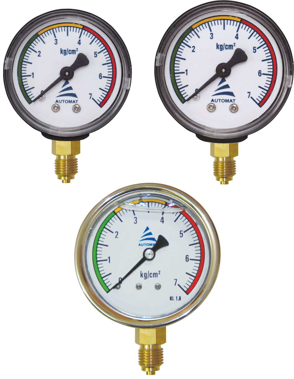Pressure Gauge Irrigation Accessories AutomatIrrigation