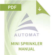 Mini Sprinkler Manual