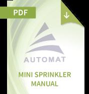 Mini Sprinkler Manual
