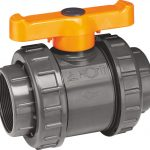 Double Union PVC Ball Valve