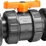 Flanged PVC Ball Valve