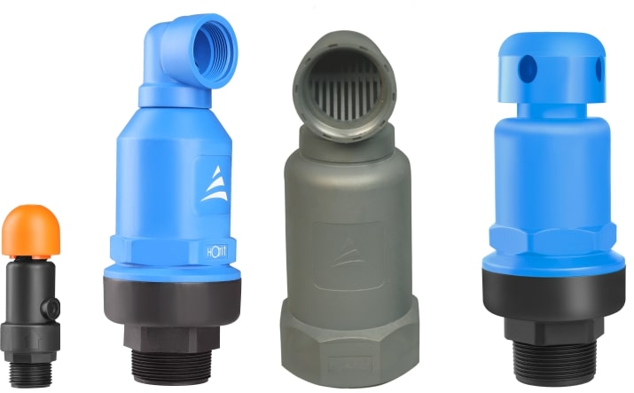 Air Release cum Vacuum Relief Valves